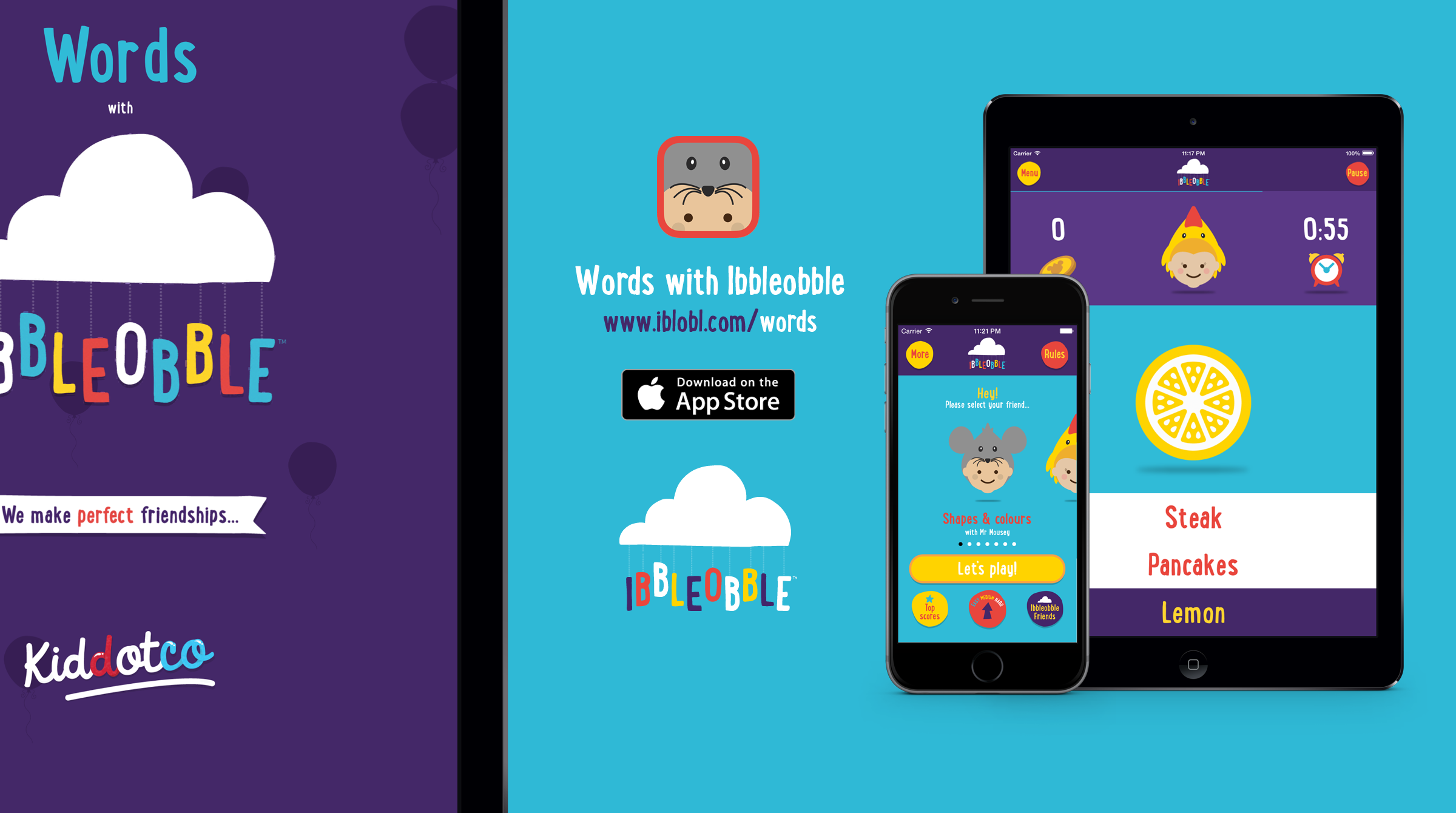 Kiddotco | Ibbleobble | Words with Ibbleobble!