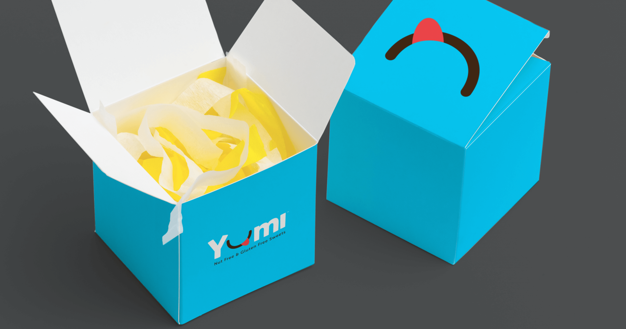 Yumi Sweets packaging design
