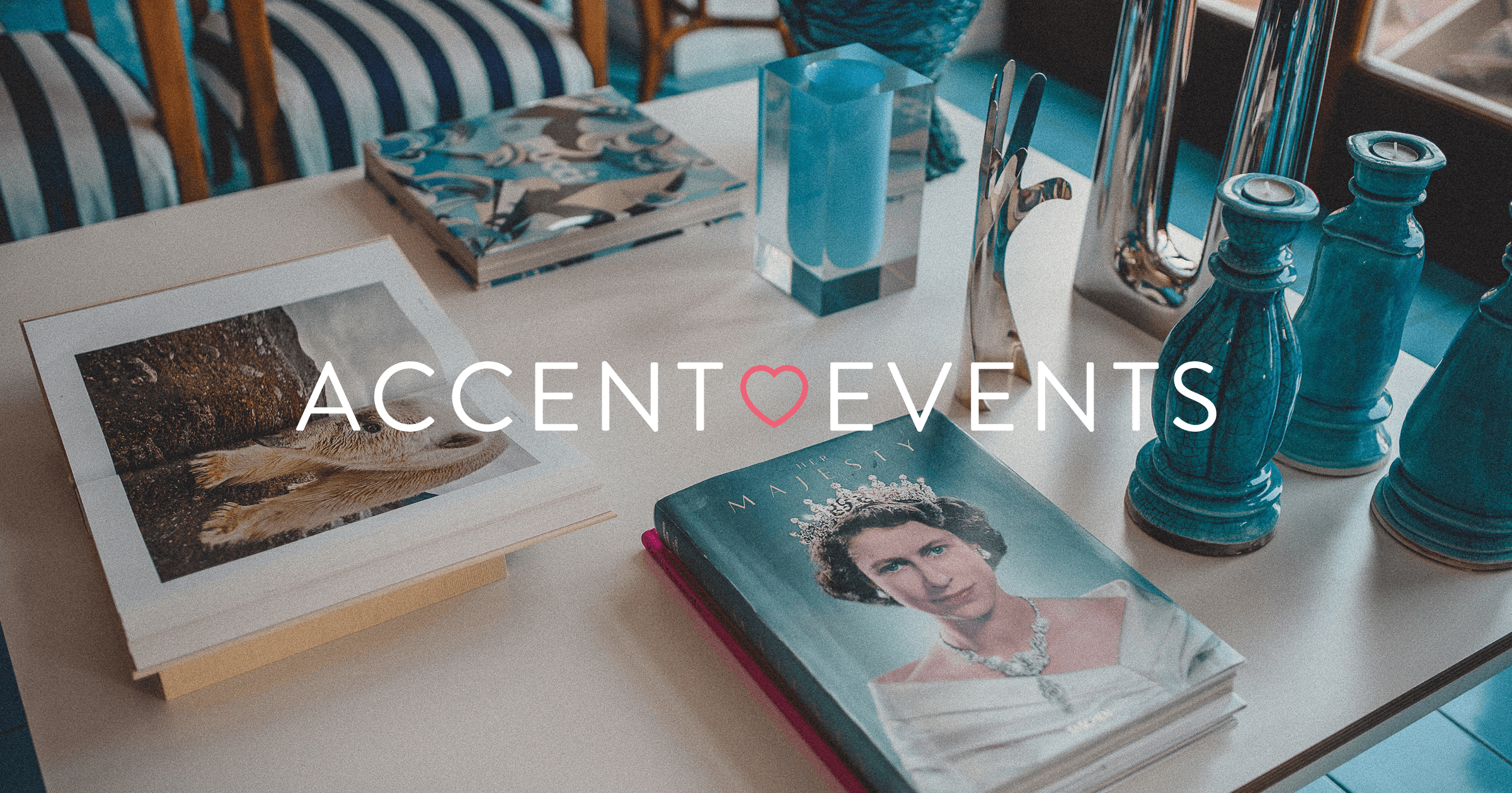 Accent Events branding