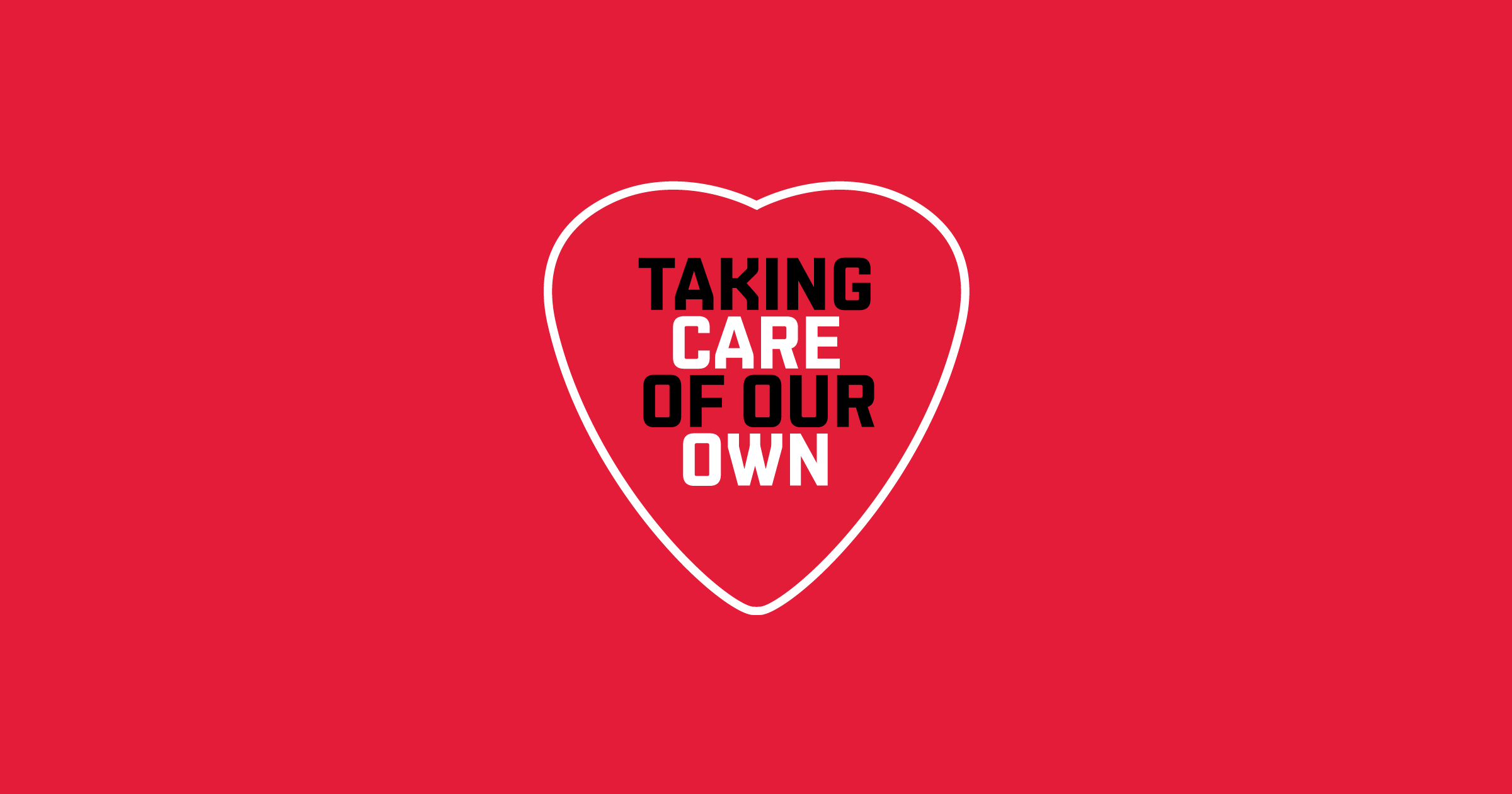 Live Nation 'Taking Care Of Our Own' logo