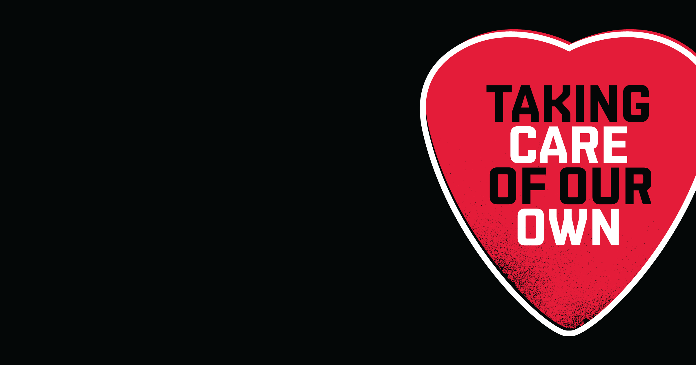 Live Nation - 'Taking Care Of Our Own' branding