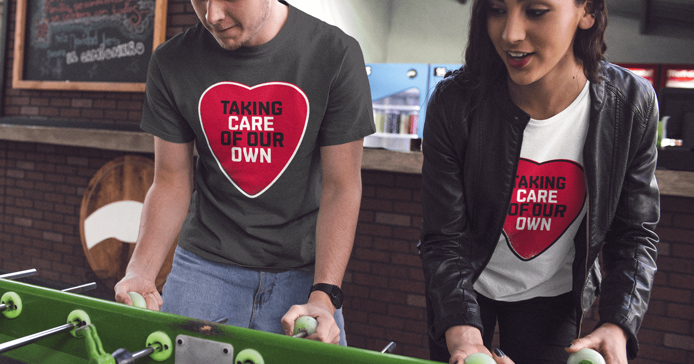 Live Nation 'Taking Care Of Our Own' t-shirt