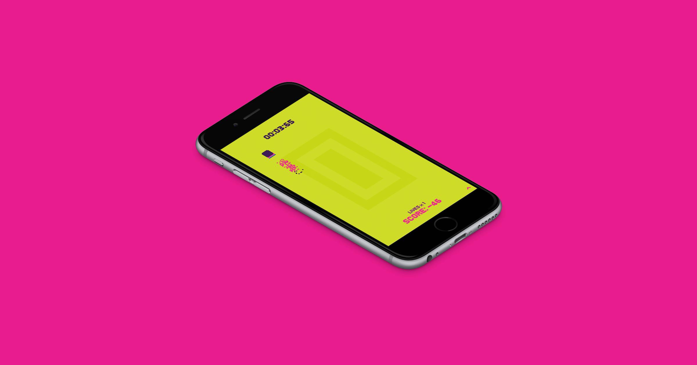Pixel Dash App game