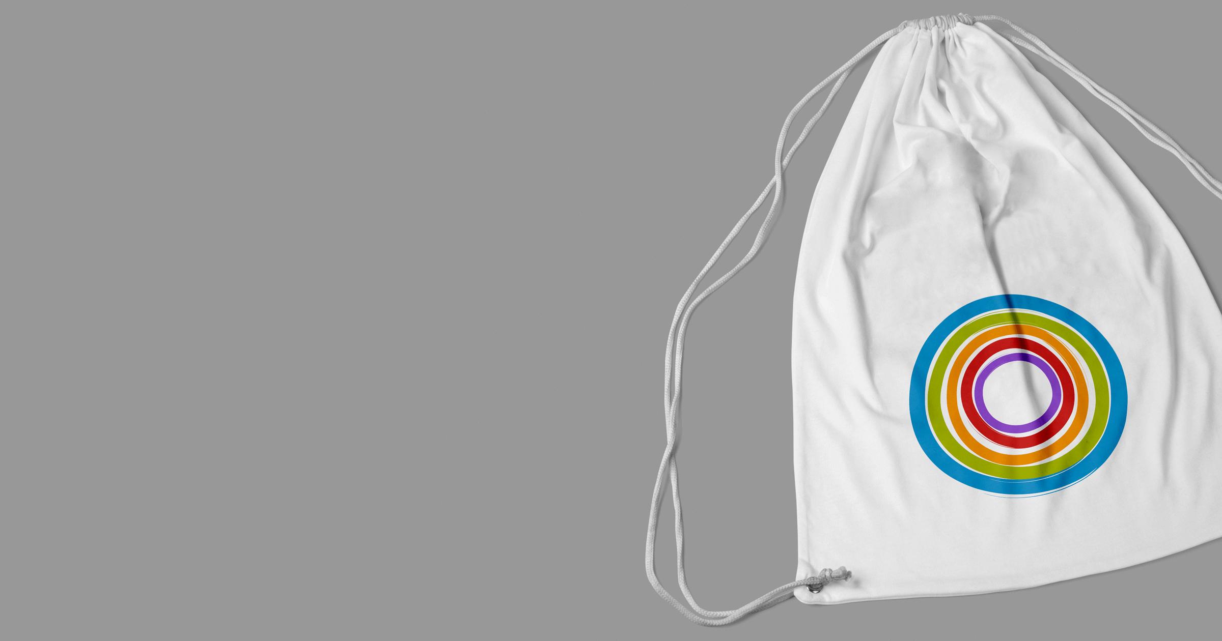 The First School drawstring bag