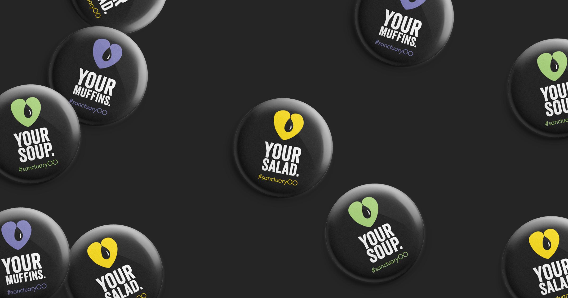 The Sanctuary Olive Oil Co. badges
